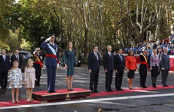 Día de la Fiesta Nacional - 12-10-14. © Casa de S.M. el Rey / Borja Fotógrafos