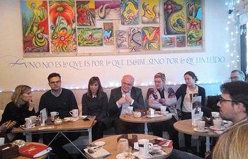 Encuentro sectorial con representantes del movimiento feminista realizado en Albacete.