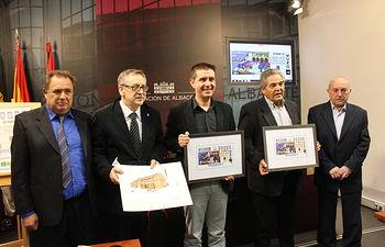 Presentado en la Diputación de Albacete el boleto que se venderá para el sorteo del próximo 30 de marzo
