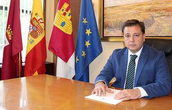 Manuel Serrano, alcade de Albacete.