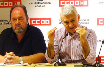 Jose Luis Gil, junto a Alfonso Gil
