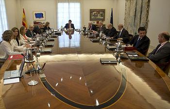Consejo de Ministros - Proyecto de Ley Orgánica de abdicación del Rey Juan Carlos I. 03-06-14