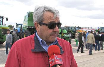 Honorato León, presidente de ACOFAMA.