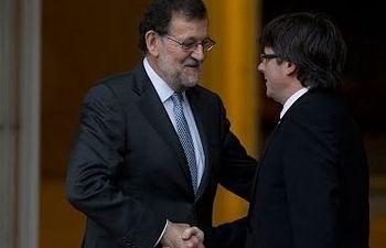 Rajoy defiende la unidad de España ante Puigdemont