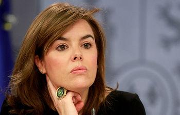 Soraya Sáenz de Santamaría. Imagen de archivo.
