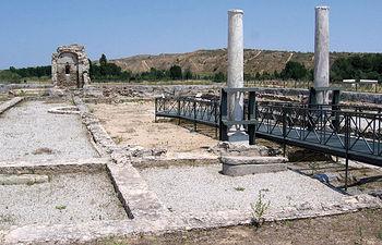 Imagen del Edificio Palatium en su estado original.