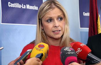 Elena de la Cruz. Archivo.