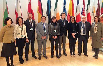 Pleno del Comité de las Regiones de la Unión Europea. Foto: JCCM.