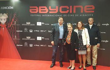 La Hermandad de Donantes de Sangre de Albacete y Abycine firman un convenio de colaboración para conmemorar el 18 aniversario del certamen cinematográfico albacetense.