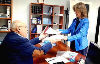Ana Guarinos presenta 628 avales  como candidata a la Presidencia del PP Guadalajara.