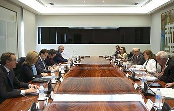 Reunión de la Comisión Delegada para Asuntos Económicos. Foto: Pool EFE.