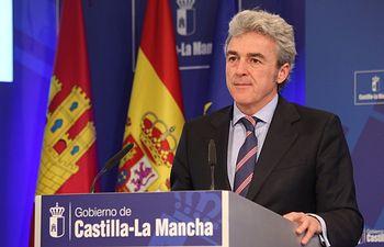 Leandro Esteban. Rueda de prensa Consejo de Gobierno 260315 II. Foto: JCCM.