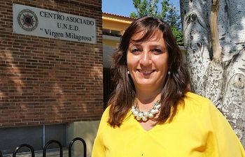 Carmen Ruiz, directora del Centro Asociado de la Universidad Nacional de Educación a Distancia (UNED) de Albacete.