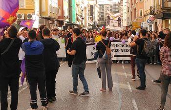 Huelga Educativa- Cuenca.