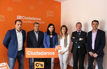 Inauguración de la sede regional de Ciudadanos esta mañana en Toledo