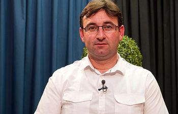 Daniel Martínez, candidato de Izquierda Unida a la Presidencia de la Junta de Comunidades de Castilla-La Mancha.