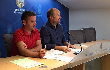 Alejandro Ruiz y Ángel Bachiller.