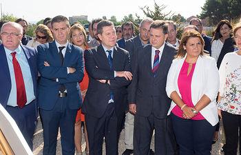 Inauguración en Albacete de las obras de mejora de la Autovía CM-3203