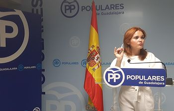 Marta Valdenebro, senadora PP Guadalajara.