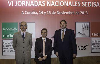 Luis Carretero reconocido como uno de los mejores directivos del año 2012. Foto: JCCM.
