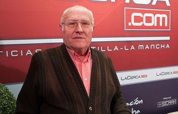 Andrés Sánchez, presidente provincial de la Asociación Española contra el Cáncer en Albacete.