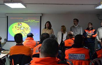 Mar España en el XIII de Protección Civil. Foto: JCCM.