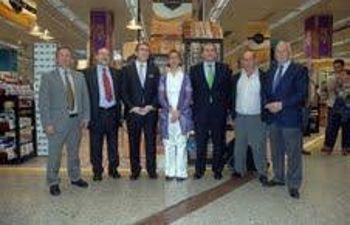 En Alcalá con el alcalde de la localidad