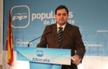 El presidente del PP de Albacete, Francisco Núñez.