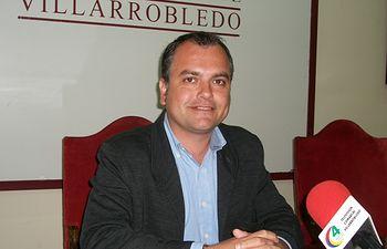 El concejal de Empleo y Personal del Ayuntamiento de Villarrobledo, Andrés Martínez.
