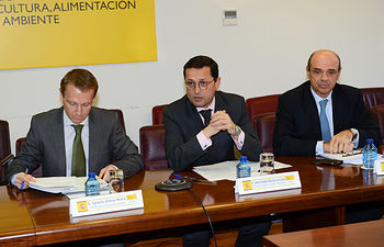Subsecretario reunión financiación. Foto: Ministerio de Agricultura, Alimentación y Medio Ambiente
