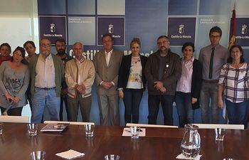 El Gobierno regional invita a las PAH a unirse al proyecto de creación de oficinas antidesahucio. Foto: JCCM.
