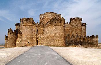 Castillo de Belmonte, en la provincia de Cuenca.