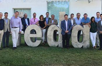 El Equipo Directivo de la mutua Solimat se reúne en Albacete