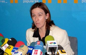 Ana Guarinos, Portavoz en las Cortes de Castilla-La Mancha del PP.