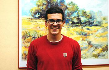 Juan Pablo Carrasco, delegado de Estudiantes de la UCLM