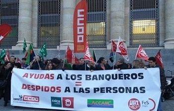 Movilizaciones en Bankia