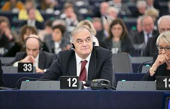 El jefe de la delegación española y Vicepresidente del Grupo PPE, Esteban González Pons