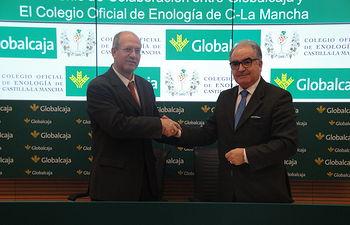 Convenio de Globalcaja con el Colegio Oficial de Enología de C-LM