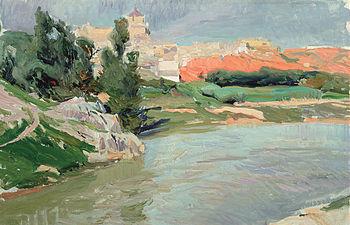 Joaquín Sorolla - Las Covachuelas - Toledo 1906 - (c) Museo Sorolla