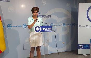 Ana González, senadora del PP Guadalajara.