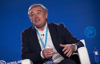 El portavoz del Grupo Popular en el Senado, José Manuel Barreiro