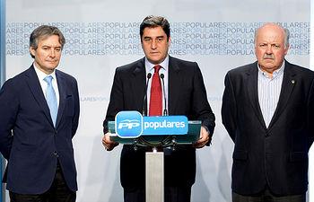 Rueda de Prensa de José Ignacio Echániz