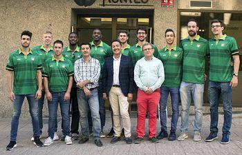 HUNTEC y CDE ALBACETE BASKET han firmado un acuerdo de colaboración y patrocinio para la temporada 2017/2018.
