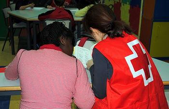 """""""Promoción del Éxito Escolar"""" de Cruz Roja."""