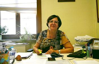 Victoria Delicado, diputada provincial de Ganemos-IU Albacete.