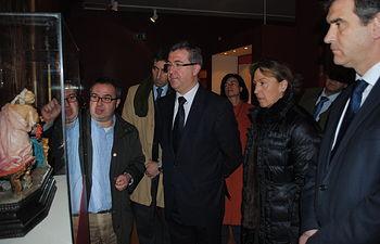 Marcial Marín en el Palacio del Infantado I. Foto: JCCM.