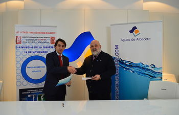 Aguas de Albacete colaborará con la Asociación de Familias Diabéticas de Albacete.
