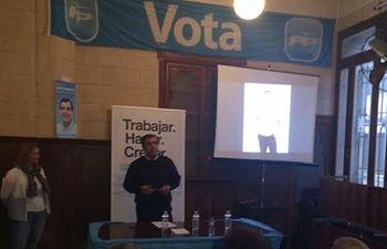 Asensio Moreno expresó su confianza de cara a las elecciones de mayo.