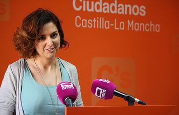 Orlena De Miguel portavoz de Cs en CLM.