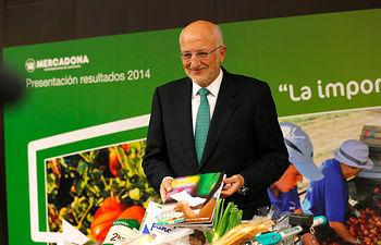 Juan Roig, presidente de Mercadona. Resultados 2014.